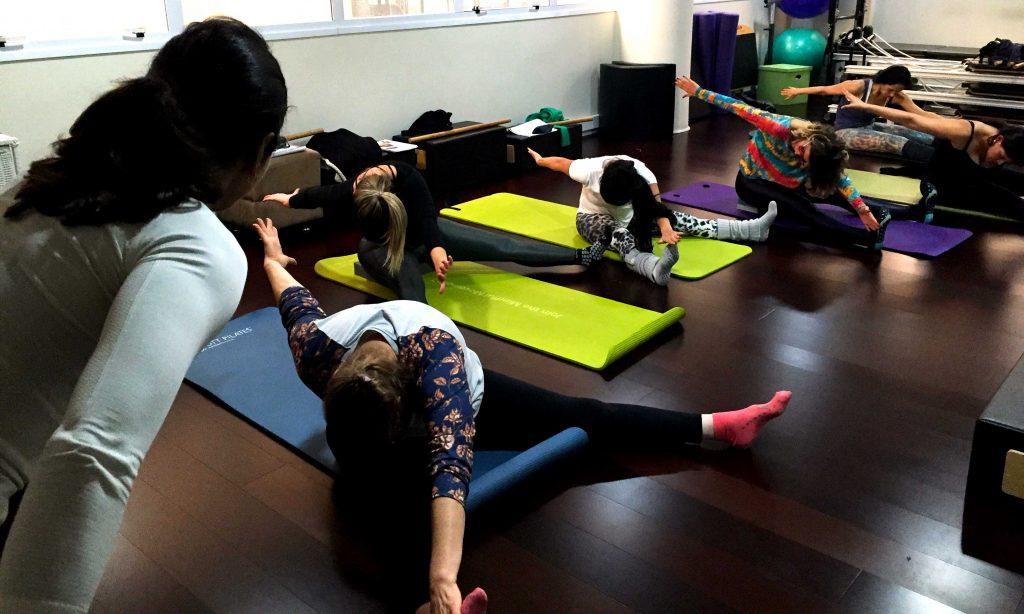 pilates emagrece - aula